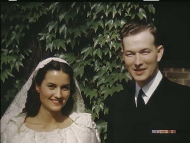 Gordon Hardy Lillian Studebaker wedding 1945