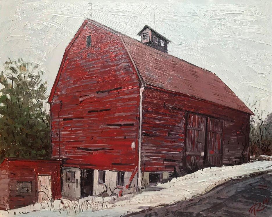 Jack Hardy's barn Tim Robinson